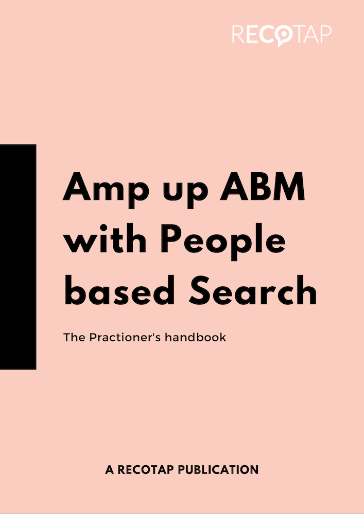 AMP up ABM wth people based search
